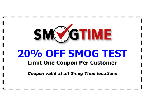 Click here for a 20% off smog check coupon